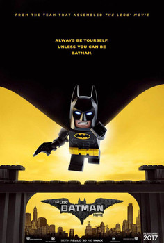 The Lego Batman Movie Original Movie Poster – Cape Advance Style