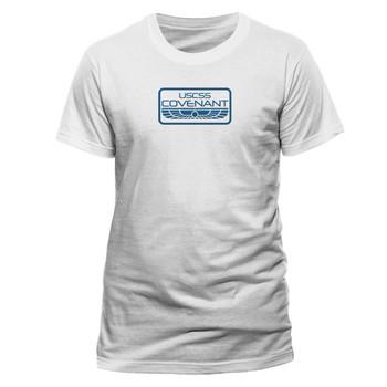 Alien: Covenant USCSS Crew Official White Unisex T-Shirt