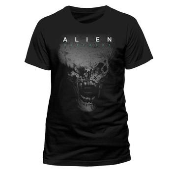 Alien: Covenant Alien Head Official Black Unisex T-Shirt