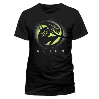 Alien: Covenant Alien Silhouette Official Black Unisex T-Shirt
