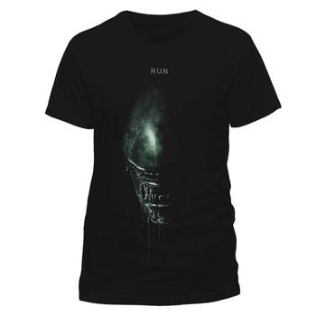 Alien: Covenant Run Alien Warrior Official Black Unisex T-Shirt