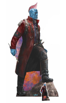 Yondu Guardians of The Galaxy Vol. 2 with Mini Cardboard Cutout