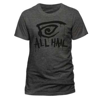 The Dark Tower All Hail Official Grey Unisex T-Shirt