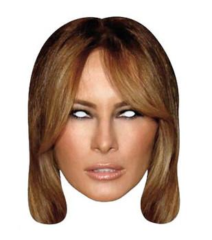 Melania Trump Single 2D Card Party Face Mask