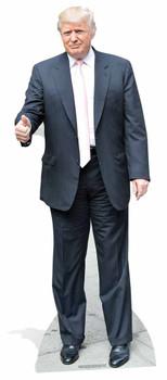 Donald Trump Pink Tie USA President Lifesize Cardboard Cutout