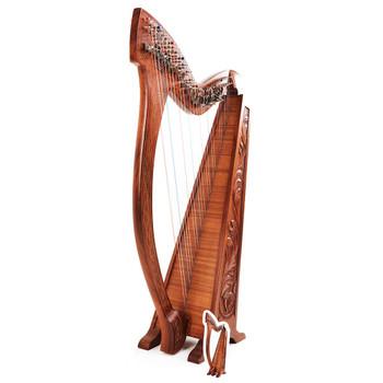 Harp Musical Instrument Cardboard Cutout / Standee / Standup