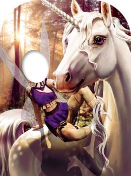 Unicorn & Fairy Fantasy Child Size Stand-in Cutout