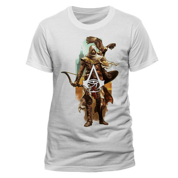 Assassin's Creed Origins Bayek and Eagle Official Unisex T-Shirt