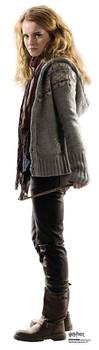 Hermione Granger holding wand Mini Cardboard Cutout / Standup