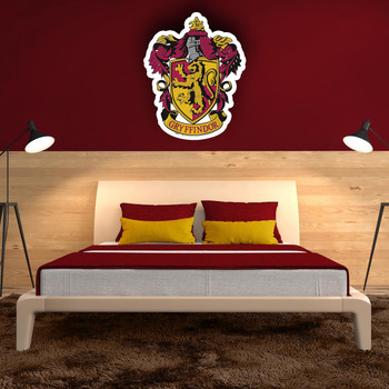 Gryffindor Crest Wall Mounted Couout in situ