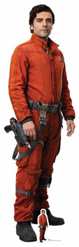 Poe Dameron Star Wars The Last Jedi Lifesize Cardboard Cutout