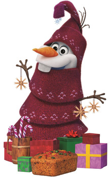 Olaf's Frozen Adventure Cardboard Cutout / Standup