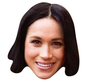 Meghan Markle 2D Single Royal Card Party Face Mask