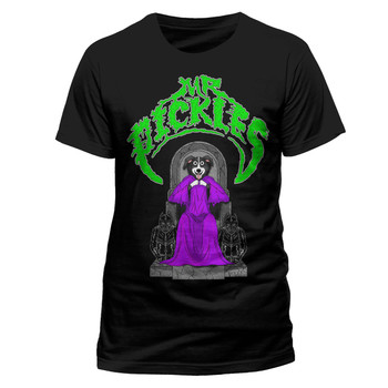 Mr Pickles Church Official Adult Swim Black Unisex T-Shirt