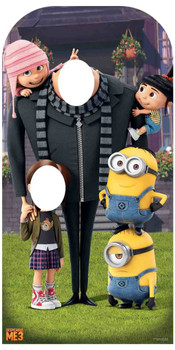 Despicable Me with Minions Cardboard Stand in / Stand up