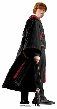 Ron Weasley Hogwarts School Uniform Lifesize Cardboard Cutout / Standee