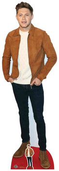 Niall Horan Suede Jacket Style Lifesize Cardboard Cutout / Standee