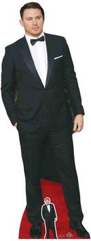Channing Tatum Black Bow Tie Lifesize Cardboard Cutout / Standee