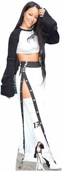 Rhianna White Boots Cardboard Cutout / Standee / Standup