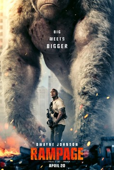 Rampage Original Movie Poster - Double Sided Advance Style