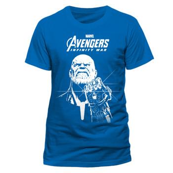 Avengers: Infinity War Blue Thanos Official Marvel Unisex T-Shirt