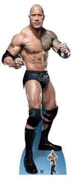 The Rock Dwayne Johnson Fight WWE Lifesize Cardboard Cutout / Standup