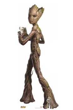 Teenage Groot Avengers Infinity War Lifesize Cardboard Cutout / Standee