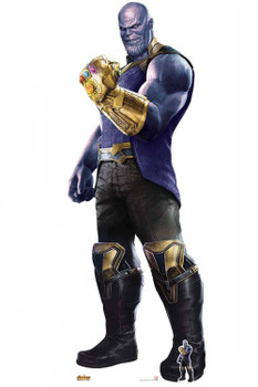 Official Thanos The Mad Titan Avengers Infinity War Giant Cardboard Cutout / Standup