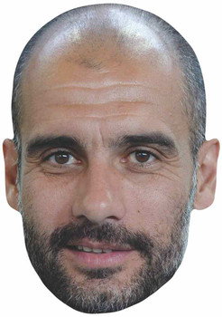 Pep Guardiola 2D Single Card Party Face Mask