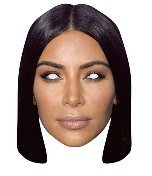Kim Kardashian 2D Single Card Party Face Mask