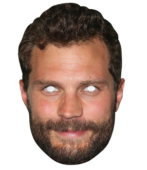 Jamie Dornan 2D Single Card Party Face Mask