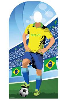 World Cup 2018 Brazil Football Cardboard Cutout Stand-in