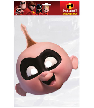 Jack-Jack Incredibles 2 Single 2D Card Party Face Mask