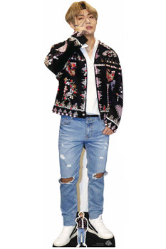 V from BTS Bangtan Boys Cardboard Cutout