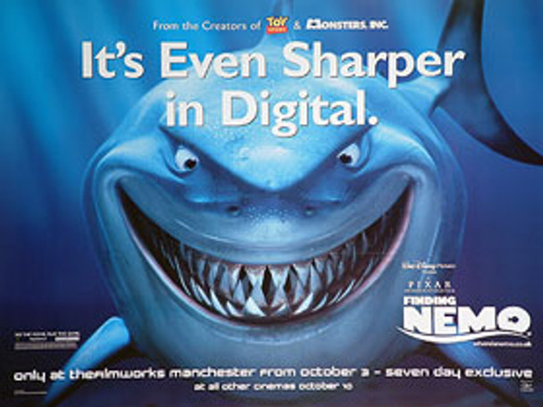 Finding nemo sharper poster buy movie posters at starstills finding nemo sharper original cinema poster altavistaventures Gallery