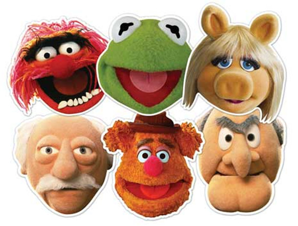The Muppets Face Mask Set of 6