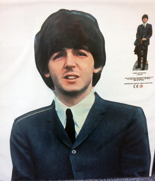 Paul Mccartney Lifesize Cardboard Cutout Buy The Beatles