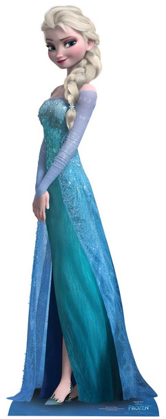 Elsa From Frozen Cardboard Cutout Buy Disney Frozen