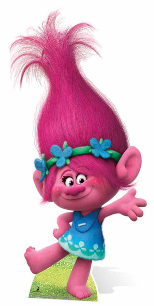 Princess Poppy from Trolls Cardboard Cutout