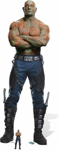 Drax the Destroyer Cardboard Cutout
