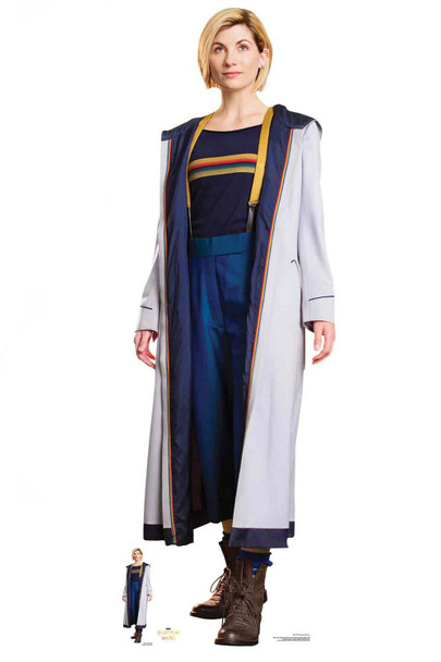 Jodie Whittaker 13th Doctor Who Cardboard Cutout
