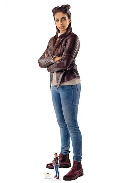 Yasmin Khan from The 13th Doctor Who Cardboard Cutout