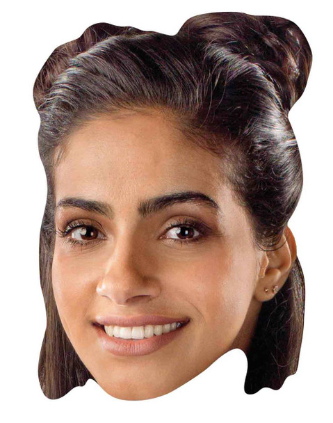 Yasmin Khan from 13th Doctor Who Official Single 2D Card Party Face Mas