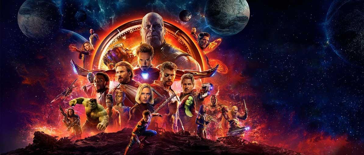 Avengers Infinity War Lifesize and Giant Cardboard Cutouts