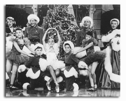 ss2299700 cast white christmas movie photo - Black And White Christmas Movie