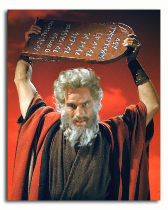 Kuvahaun tulos haulle ten commandments moses movie
