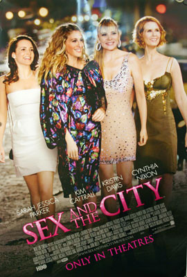 Sex and the city movie showings