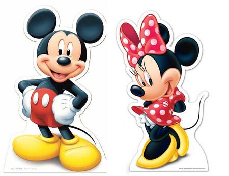 Lifesize Cardboard Cutout of Mickey