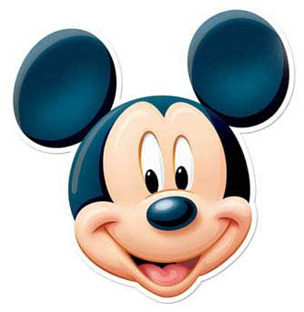 mickey mouse face mask  ssf0041  buy star face masks at top secret clip art free top secret clipart red