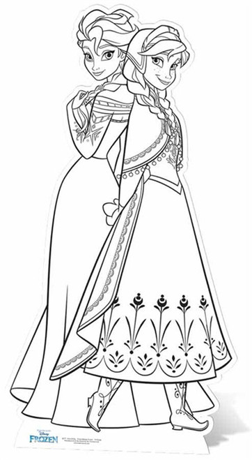 ana frozen coloring pages - photo#25